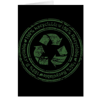 100 Percent Recyclable Card