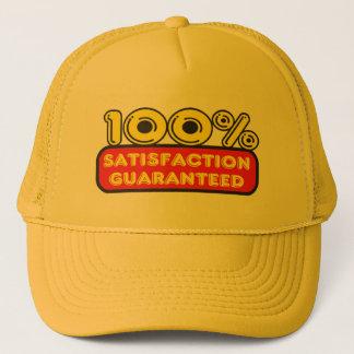 100 Percent Satisfaction Guaranteed Trucker Hat