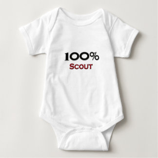 100 Percent Scout Baby Bodysuit