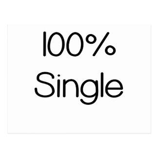 100 Percent Single.png Postcard