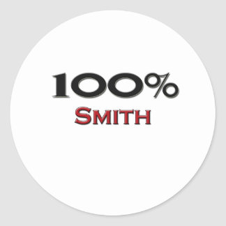 100 Percent Smith Classic Round Sticker