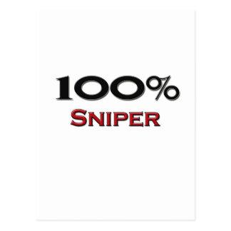 100 Percent Sniper Postcard