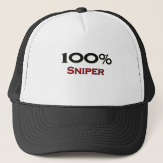 100 Percent Sniper Trucker Hat
