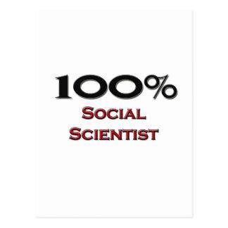 100 Percent Social Scientist Postcards
