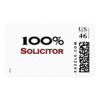 100 Percent Solicitor Postage Stamps