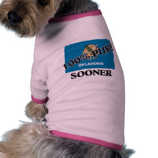 100 Percent Sooner Doggie T Shirt