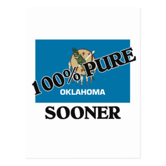 100 Percent Sooner Postcard