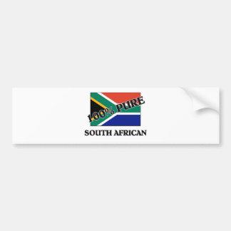 100 Percent SOUTH AFRICAN Bumper Sticker