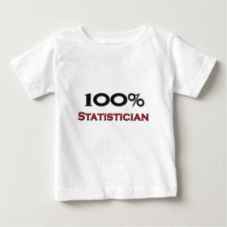 100 Percent Statistician Baby T-Shirt