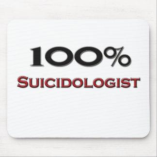 100 Percent Suicidologist Mouse Mat