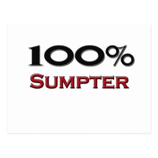100 Percent Sumpter Postcard