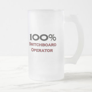100 Percent Switchboard Operator Coffee Mugs
