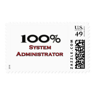 100 Percent System Administrator Postage