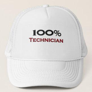 100 Percent Technician Trucker Hat