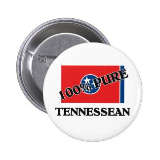 100 Percent Tennessean Button