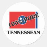 100 Percent Tennessean Sticker