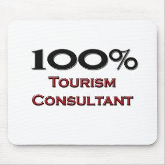 100 Percent Tourism Consultant Mouse Mat