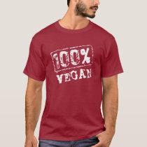 100 Percent Vegan T Shirt