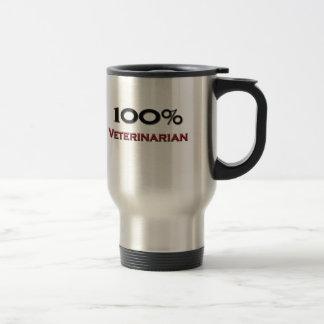 100 Percent Veterinarian Technician 15 Oz Stainless Steel Travel Mug