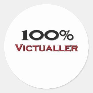100 Percent Victualler Sticker