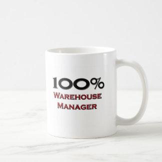 100 Percent Warehouse Manager Coffee Mugs