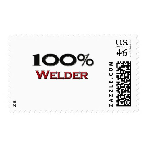 100 Percent Welder Stamp