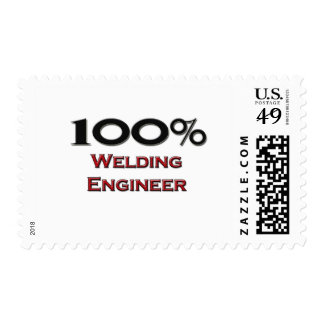 100 Percent Welding Engineer Postage Stamp