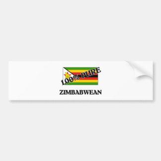 100 Percent ZIMBABWEAN Bumper Stickers