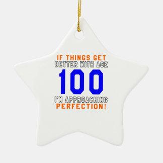 100 Perfection Birthday Designs Christmas Tree Ornaments