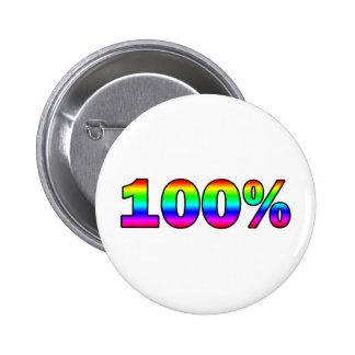 100% PIN REDONDO DE 2 PULGADAS