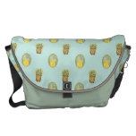 100% pineapple courier bag