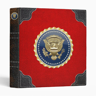[100] Presidential Service Badge [PSB] 3 Ring Binder