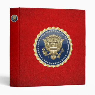 [100] Presidential Service Badge [PSB] Binder