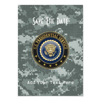 [100] Presidential Service Badge [PSB] Special Ed Magnetic Card