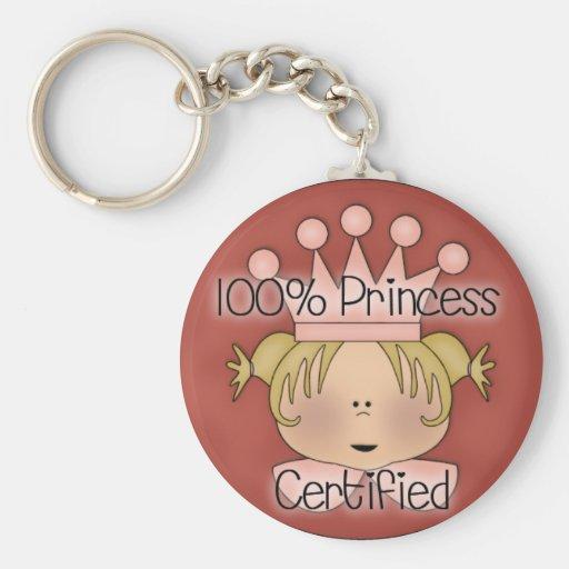 100% Princess Certified Key Chains