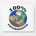 100% Programador Alfombrillas De Ratones
