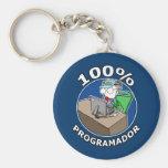 100% Programador Llavero