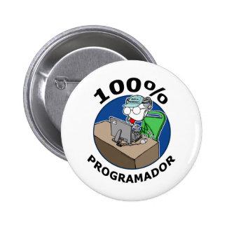 100% Programmer 2 Inch Round Button