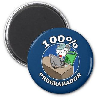 100% Programmer 2 Inch Round Magnet