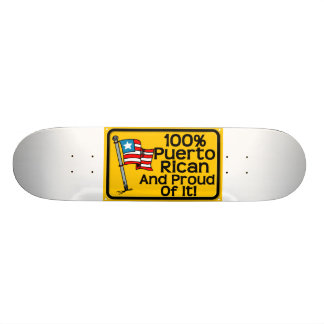 100 puerto rican skateboards