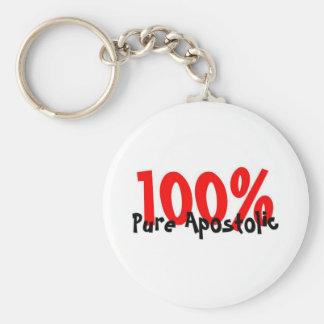 100% pure apostolic keychain