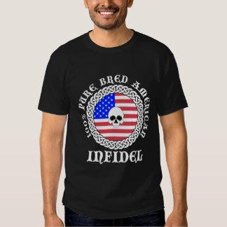 100% Pure Bred American Infidel T-shirt