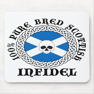 100% Pure Bred Scottish Infidel Mouse Pad
