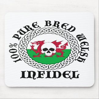 100% Pure Bred Welsh Infidel Mouse Mat Mouse Pad