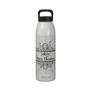 100% pure geniu sports or gym water bottle