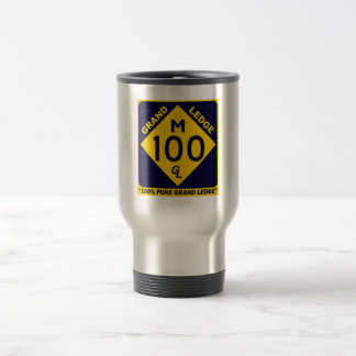 100% Pure Grand Ledge Travel Mug