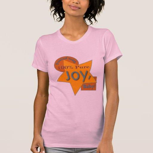 100% Pure Joy! Cap Sleeve Raglan T-shirts