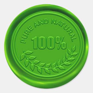 100% Pure & Natural Wax Seal
