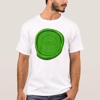 100% Pure & Natural Wax Seal T-Shirt