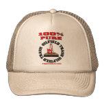 100% Pure Oil Field Trash,Oil Field Cap,Oil Rig Hat